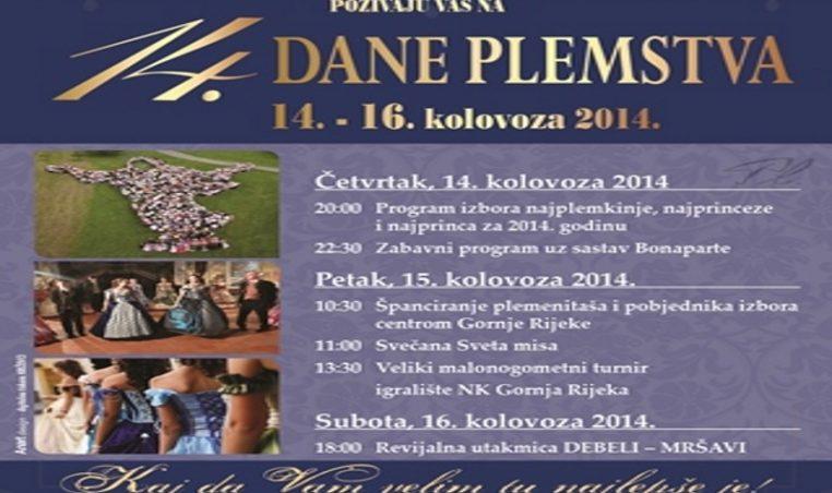 DANI PLEMSTVA 2014
